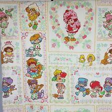 Strawberry Short Cake Flat Bedding Sheet Crafts Fabrics