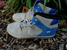 COOL Boys SUPRA VAIDER Youth HIGH TOP Shoes - Size 7 - 7.5 Skate Street Wear