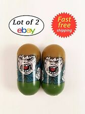2004 Marvel Universe Mighty Beanz 70 MR. HYDE Spider-man 2003 Series 2 LOT OF 2