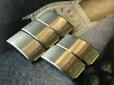 16Mm Ss Mens Watch Buckle Cover Crazy Clearance-Lot Of 5 Pcs Nos Titus