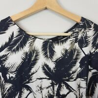 [ STEFFEN SCHRAUT ] Womens Palm Tree Print Dress | Size AU 12 or US 8