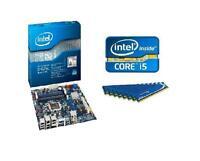 INTEL I5 3550 QUAD CORE CPU DH67BL MEDIA MOTHERBOARD 8GB MEMORY RAM COMBO KIT