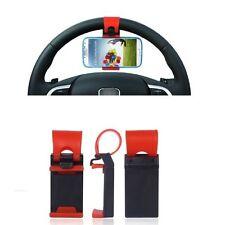 Supporto Universale Auto Car per Samsung Galaxy Ace 4 Young 2 Sterzo Volante