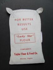 Die-cut Sack Lucky Star Flour Taylor Flour & Feed Co ALTAVISA VA Needle Kit