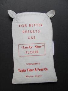 Die-cut Sack Lucky Star Flour Taylor Flour & Feed Co ALTAVISA VA Needle Kit