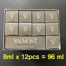 Valmont Clarifying Pack 8ml x 12 pcs SAMPLES = 96ml - NEW & FRESH in BOX