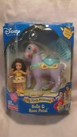 Rare Disney Princess My First Princess Belle & Rose Petal Mattel 2003 NEW t263