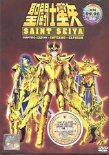 Saint Seiya Season 1-3 End + The Hades Inferno & Elysion OVA 1-18 End DVD Anime