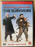 The Survivors DVD 1983 Comedia Película Clásica con / Walter Matthau + Robin
