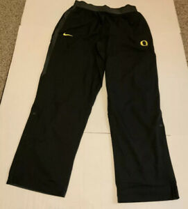 Nike Oregon Ducks Pants Men's Size: XL NWOT Black/Yellow W/pockets
