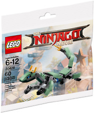 LEGO: Ninjago Green Ninja Mech Dragon ( 30428 ). Polybag New & Sealed.