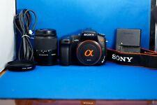 Sony Alpha a300 10.2MP Digital SLR Camera - Black (Kit w/ DT 18-70mm Lens)