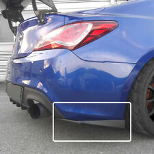 New M&S ABS Black Matte Rear Wing 2pcs for Hyundai Genesis Coupe 13-16