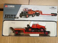 Corgi 16901 Scammell Highwayman Hallett Silbermann Ltd Edition No. 0004 of 7400