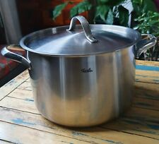Fissler Classic Stainless Steel Stockpot with Stainless Steel Lid 24cm 6.8L