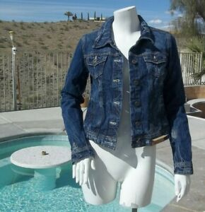 Jacket Blue Jean NEW with tags (s) Women's   SHIPS FREE