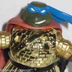 Teenage Mutant Ninja Turtles Leonardo Action Figure Gold Armour Knight 2004 TMNT