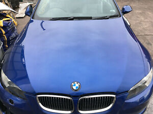 BMW PRE LCI E92 E93 GENUINE BONNET MONTEGO BLUE
