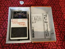 Boss TU-2 Chromatic Tuner Boxed with Manual