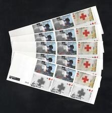 (928982) 5x Red Cross, Booklet, Netherlands