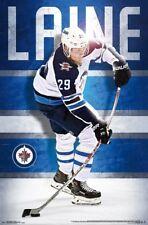 PATRICK LAINE - WINNIPEG JETS POSTER - 22x34 - NHL HOCKEY 16307