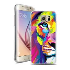 Coque Housse Samsung Galaxy S 7 Edge - Motif Lion