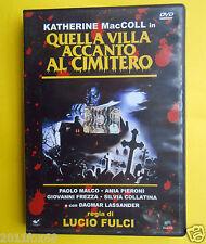 dvd quella villa accanto al cimitero lucio fulci the house by the cemetery movie