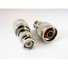 1pc BNC to N type adapter BNC male plug swtich N type male RF coax connector co