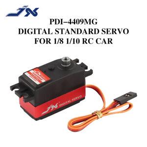 JX Servo PDI-4409MG 4.8-6.0V 9KG Metal Gear Digital Servo For 1/8 1/10 RC Car