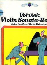 VORISEK-VIOLIN SONATA, RONDO-SNITAL/VIOLIN-CROSSROADS-MINT/SEALED/UNPLAYED