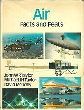 Air Facts and Feats 1974 PLANE AVION AVIATION flugzeug aéronautique aircraft
