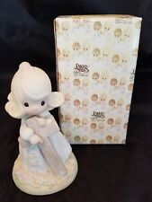 ENESCO Vintage 1985 Precious Moments I Believe In The Old Rugged Cross #103632