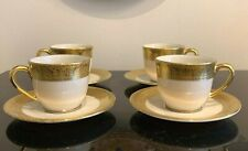 Lenox Westchester Presidential Collection Demitasses Set of 4