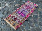 Home decor, Small rug, Doormats, Vintage rug, Turkish rug, Kitchen   1,3 x 3,1 f