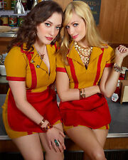 2 Broke Girls 8X10 waitress outfit from show posing