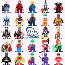 24Pcs DC MARVEL Batman Joker Superheroes Custom Lego Minifigures Building toys