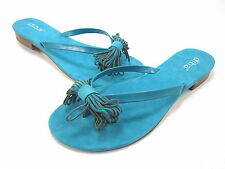 DIBA, KLING ON SANDAL, WOMENS, BLUE, US 8.5M, LEATHER, NEW WITHOUT THE BOX