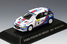 1/64 CM's Rally Car Collection FORD FOCUS RS WRC01 2001 Monte Carlo
