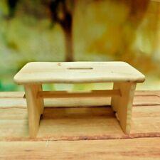Toddler Wooden Chair -Children Stool -Kids Step - Child Wooden Step Stool
