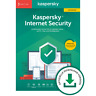 Kaspersky Internet Security Upgrade, 3 Geräte, 1 Jahr,OFFIZIELLE DOWN. VERSION