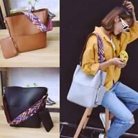 Women Leather Handbag Shoulder Bag Purse Ladies Messenger Crossbody Satchel Tote