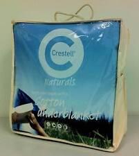 DOUBLE BED Cotton UnderBlanket Crestell Naturals Mattress