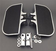 Chrome Mini Floorboards For Harley Dyna Fat Bob/Low Rider/Street Bob/Super Glide