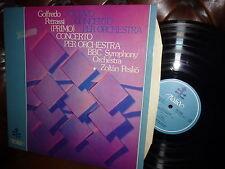 Goffredo Petrassi concerto, BBC Symphony Orch. Zoltan Pesko, Italia ITL 70009 ST