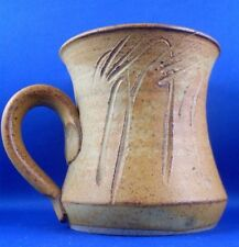 NEW (NU) YARRA GLEN POTTERY Australia ABSTRACT POTTERY MUG Collectable - In Aust