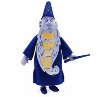 """Disney Store Wisdom Collection Merlin Sword in the Stone Limited Plush 20"""" H NWT"""