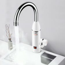 Numérique LED chaude et froide mitigeur chauffe-eau évier cuisine robinet bassin