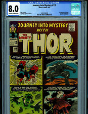 Thor Journey Into Mystery # 119 CGC 8.0 1965 1st Ularic Warriors 3 Odinship  K49