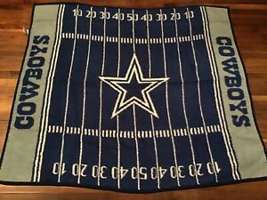 The NorthWest Company NFL Dallas Cowboys Field Fleece Throw Blanket