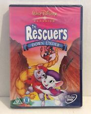 The Rescuers Down Under (Disney DVD, 2002) BRAND NEW FACTORY SEALED